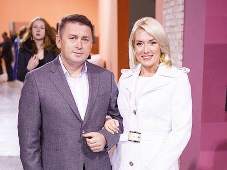 Наталія Розинська з чоловіком Миколою Мельниченком