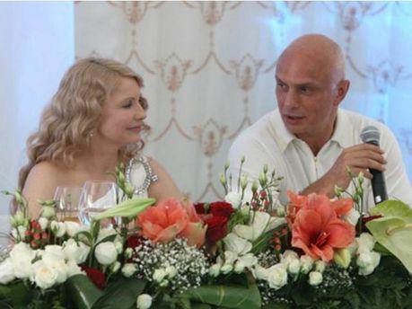 Юлия Тимошенко с мужем
