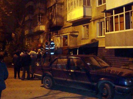 Свідки пожежі на місці події