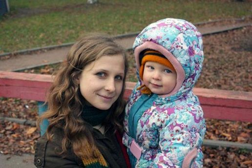 Марія Альохіна з сином