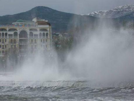 Буря у Криму