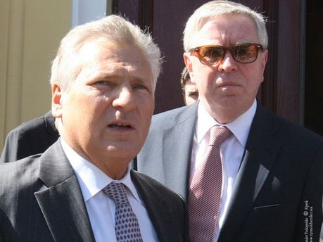 Олександр Кваснєвський та Пет Кокс