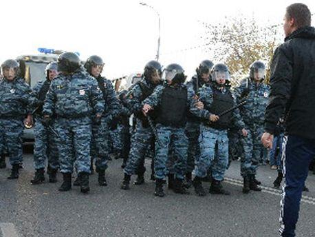 Полиция задержала активистов