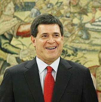 Президент Парагваю Орасіо Картеса