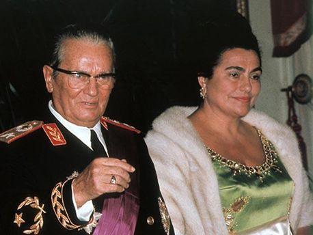 Броз Тито и Йованка Броз