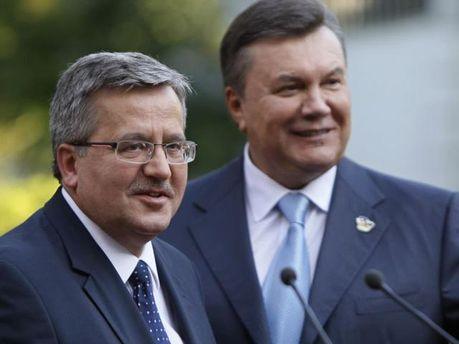 Коморовський і Янукович