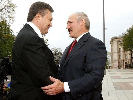 Янукович і Лукашенко