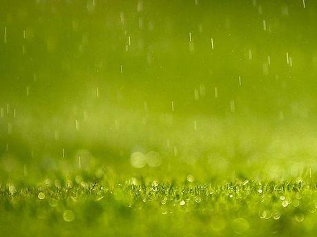 Дощ на футбольному полі