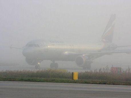 Самолет в тумане