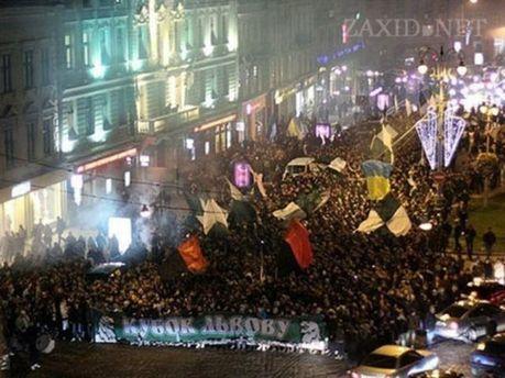 Марш фанів «Карпат»