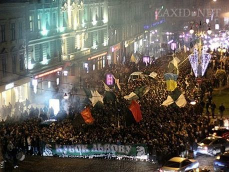 Марш фанов «Карпат»
