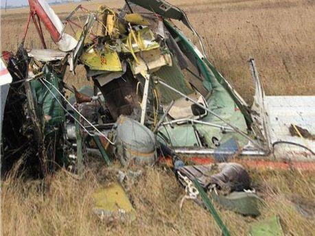 Ймовірне місце аварії літака на Рівненщині