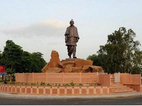 Памятник Валлабхаи Патели