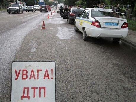 Аварія на трасі Львів—Тернопіль