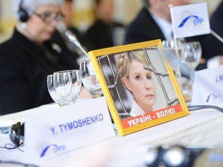 Портрет Юлії Тимошенко