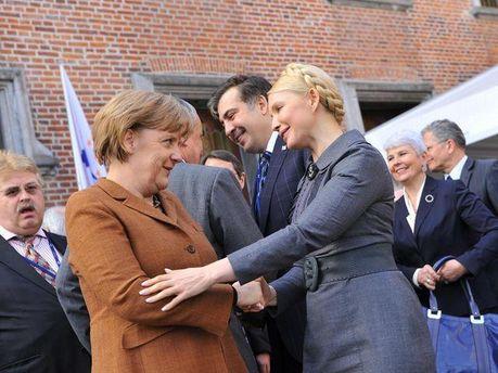 Ангела Меркель і Юлія Тимошенко