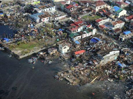 Последствия стихийного бедствия на Филиппинах