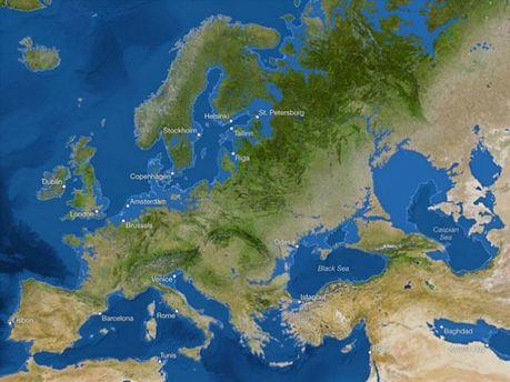 Інтерактивна мапа National Geographic