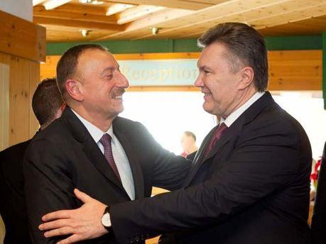 Янукович і Алієв