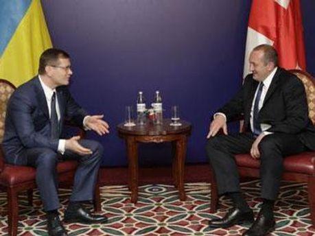 Олександр Вілкул та Георгій Маргвелашвілі