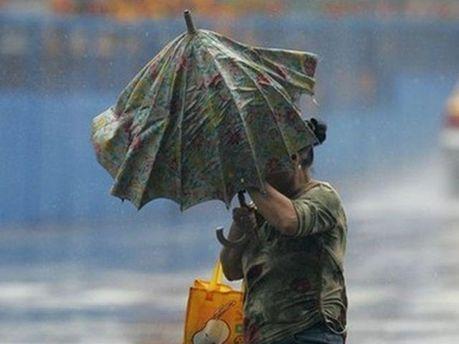 Вітер і дощ