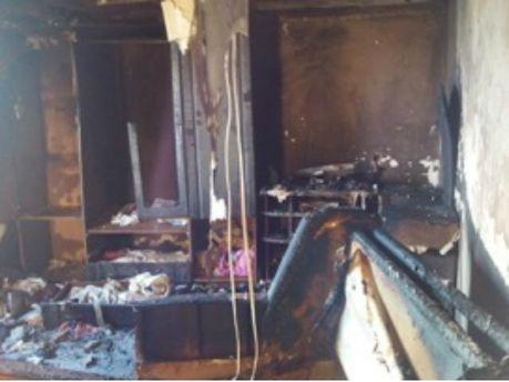 В пожежі загинули діти