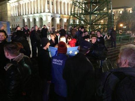 ONLINE-трансляція Європейського Майдану