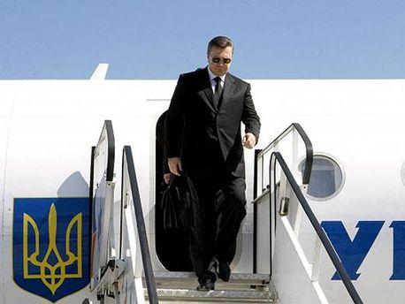 Виктор Янукович в Австрии