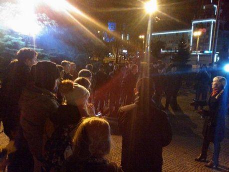 Евромайдан в Луганске