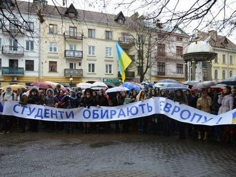 Евромайдан, Ивано-Франковск