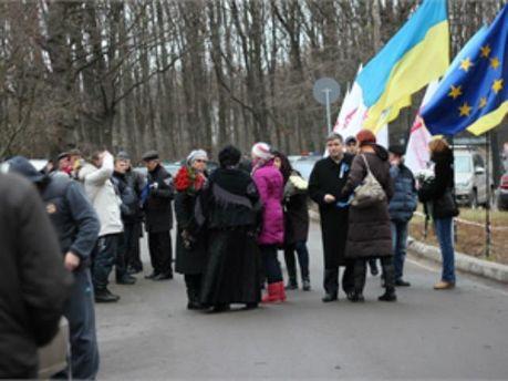 Сторонники Юлии Тимошенко