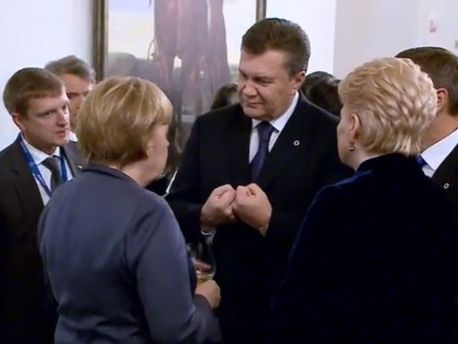 Віктор Янукович у Вільнюсі