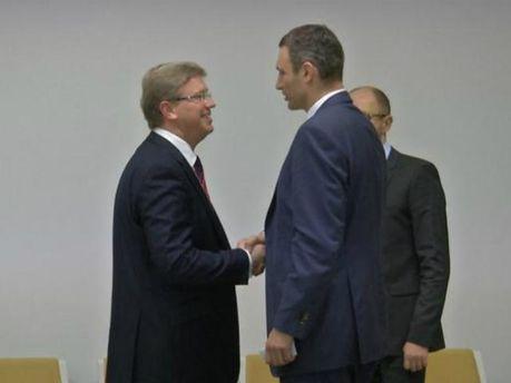 Віталій Кличко та Штефан Фюле