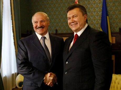 Виктор Янукович и Александр Лукашенко