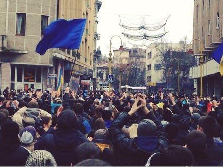 Євромайдан в Івано-Франківську