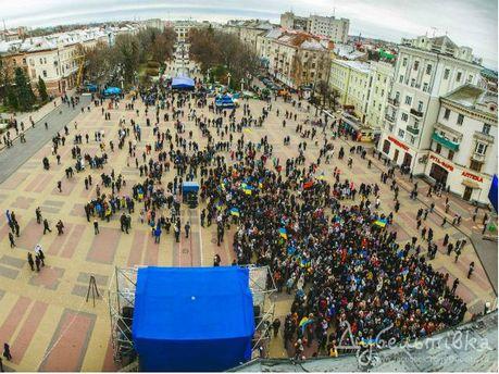 Євромайдан в Тернополі