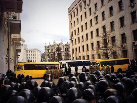 Украинский спецназ под АП