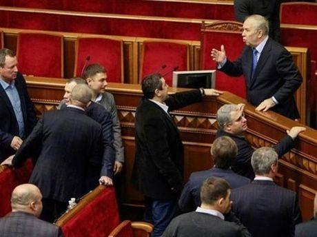 Работа в парламенте