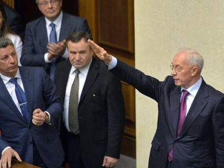Николай Азаров в Раде