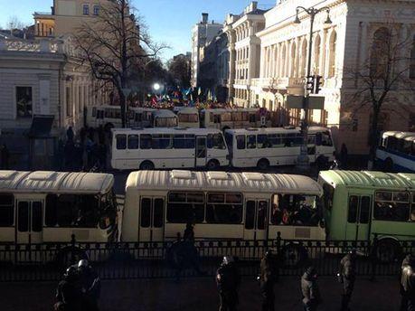 Автобусы МВД
