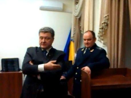 Петро Порошенко у суді