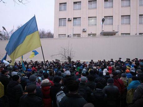 Митинг под Шевченковским судом