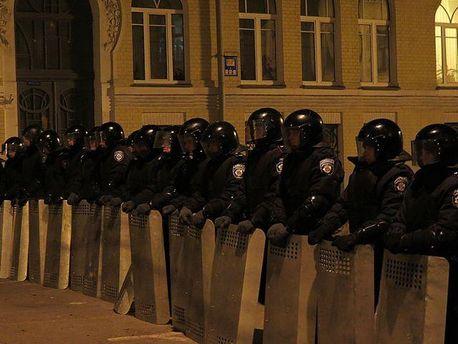Міліція на Банковій