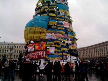 Елка на Евромайдане
