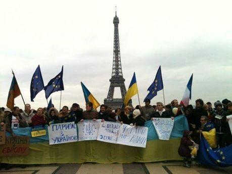 Евромайдан в Париже