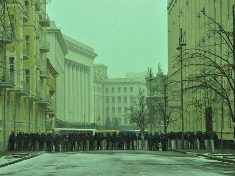 Адміністрація Президента на вулиці Банковій