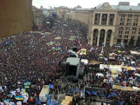 Евромайдан сейчас