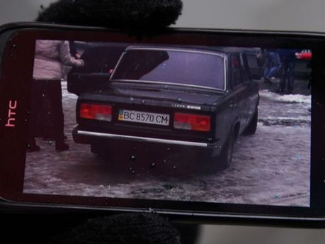 Авто, на котором похитили фотографа