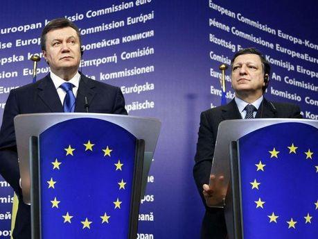 Віктор Янукович у Брюсселі