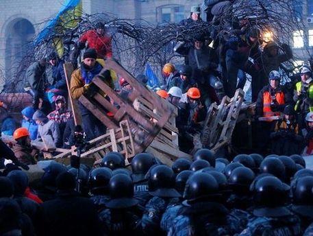 Барикади в Києві